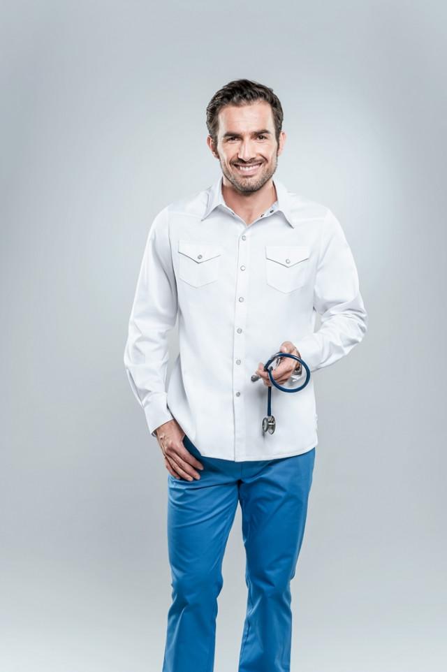 Koszula medyczna męska 3014 K1