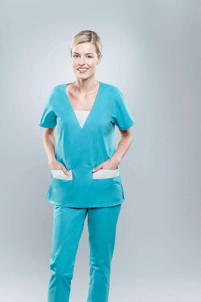 Bluza medyczna damska 1806 K29/W2