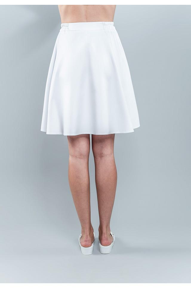 Spódnica medyczna damska 4006 K1 tył